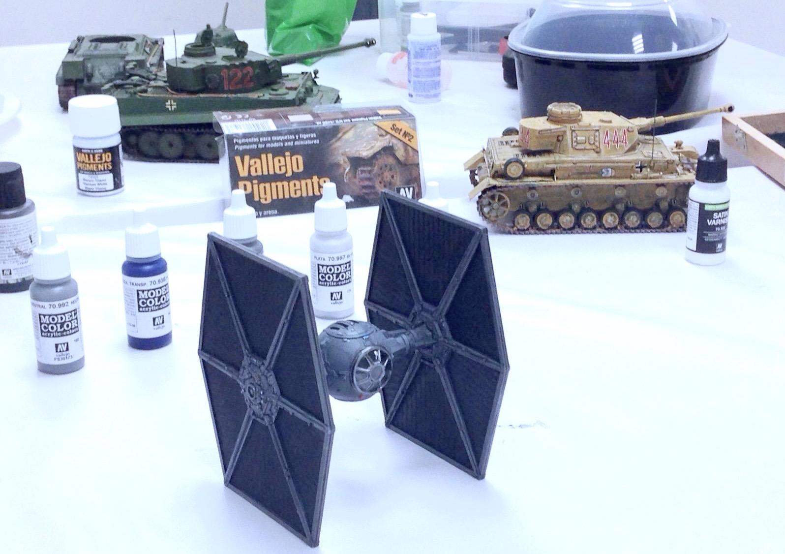construccion de maquetas star wars alfonso jaraiz
