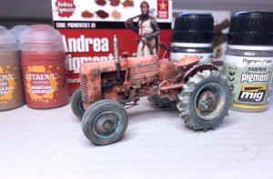 Tractor a escala 1:35 (Thunder Models)