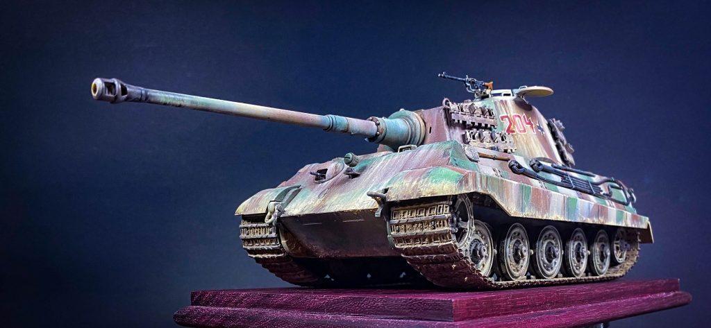 Tiger Tank a escala 1:35 (Tamiya Models) Alfonso Jaraiz