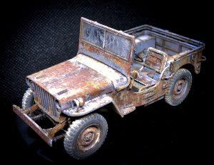 Jeep Willys Tamiya escala 1:35 Alfonso Jaraiz