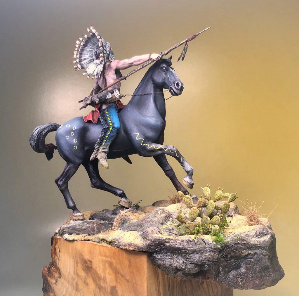Tasunka Witko 75 mm (La Meridiana Miniatures) Alfonso jaraiz